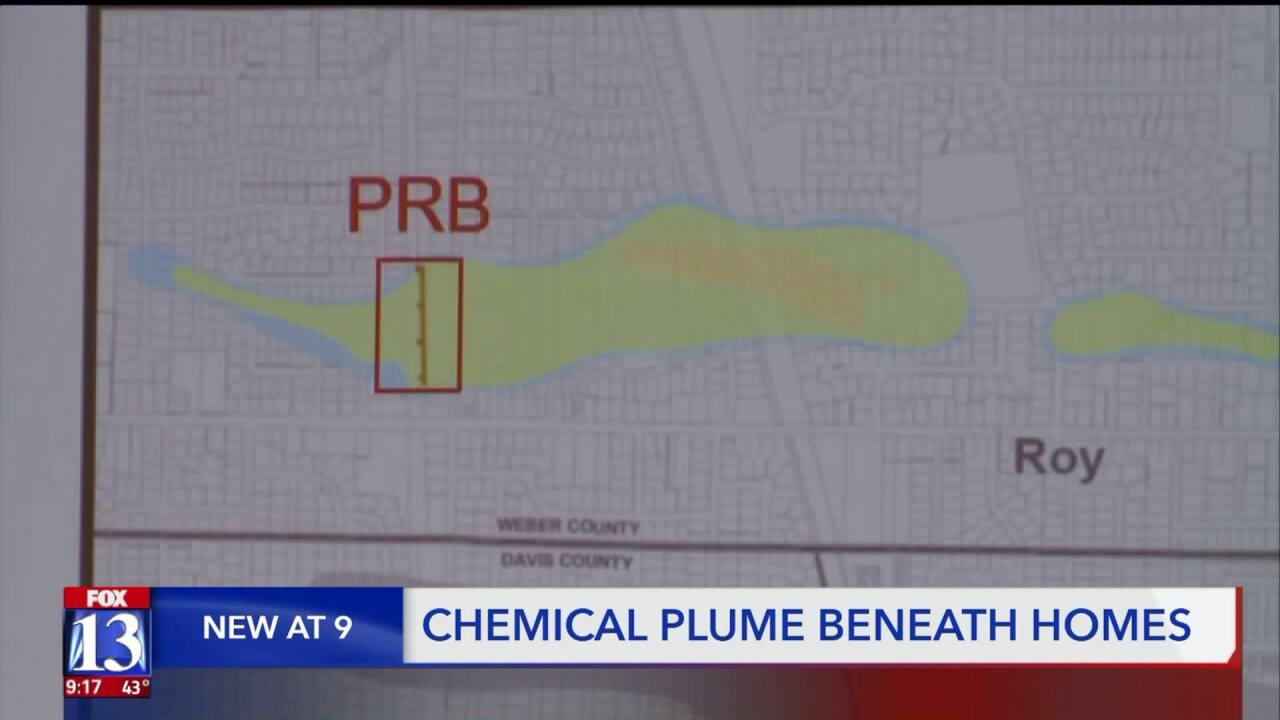Air Force testing hundreds of Utah homes above chemical plume