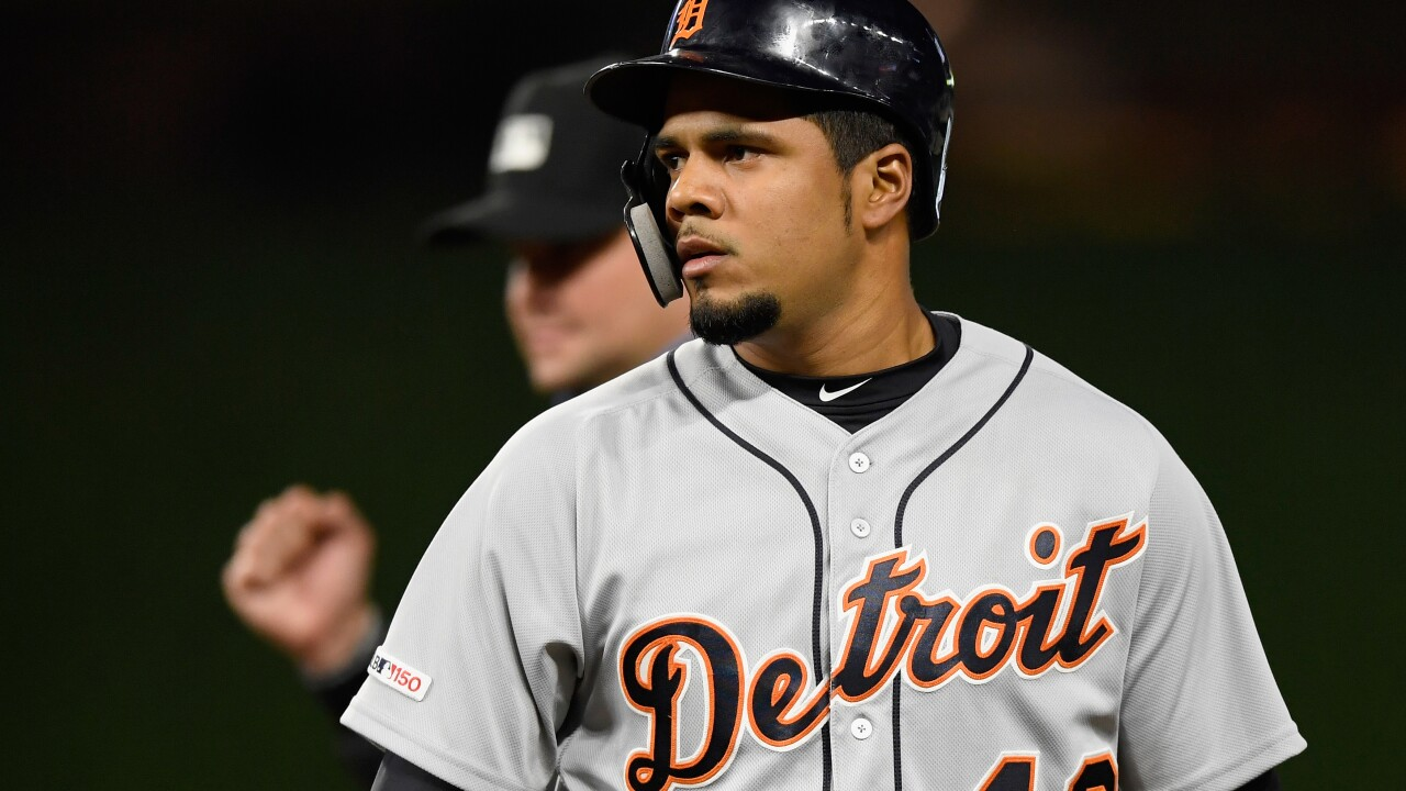 Tigers recall Jeimer Candelario from Triple-A Toledo