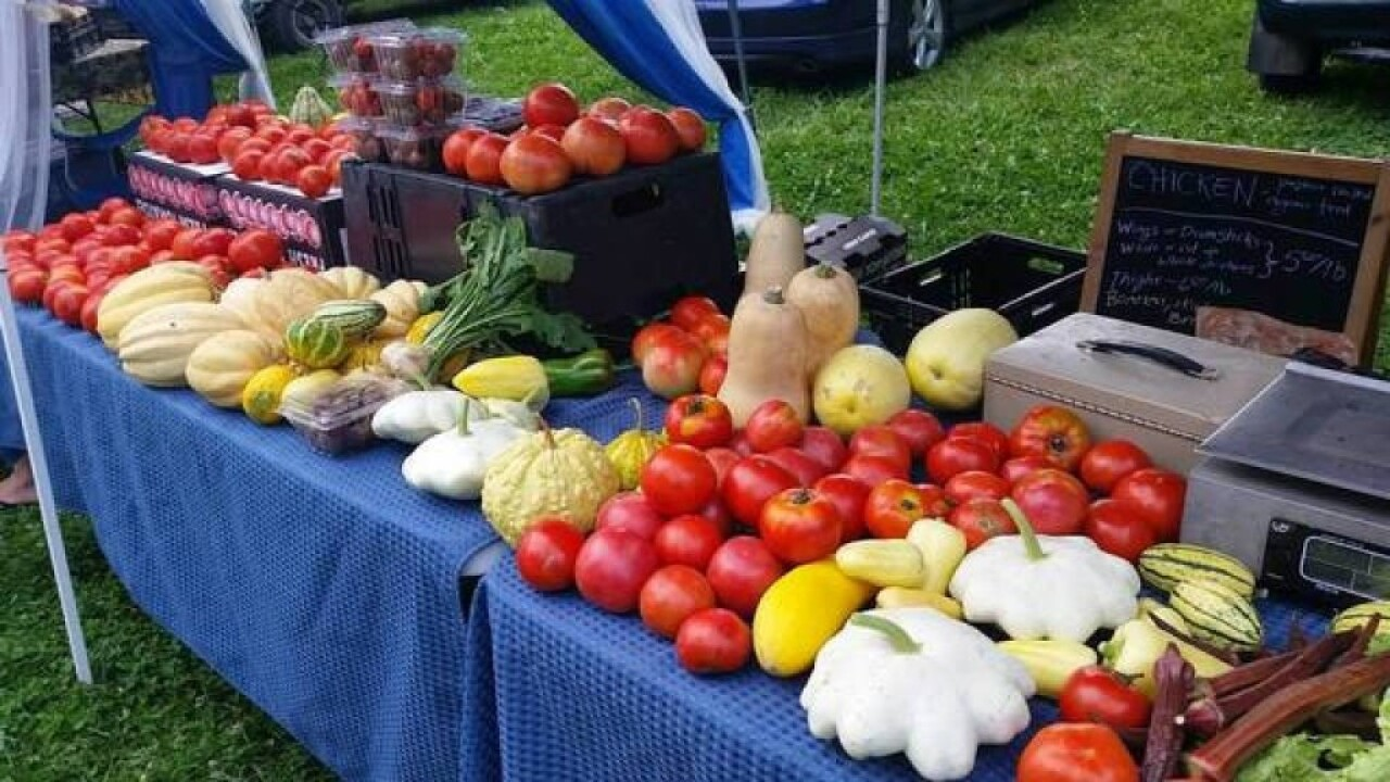 There are 22 farmers markets in Montana accept SNAP, which helps low income families buy healthy food. (MTN News photo()