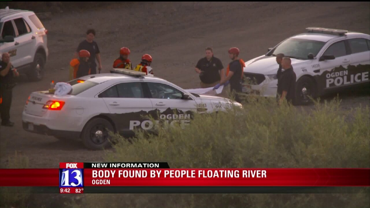Group floating Ogden River discovers body