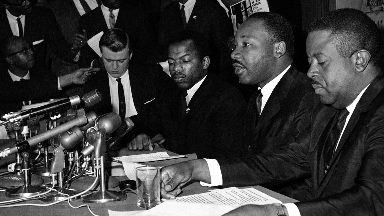 Martin Luther King Jr., John Lewis