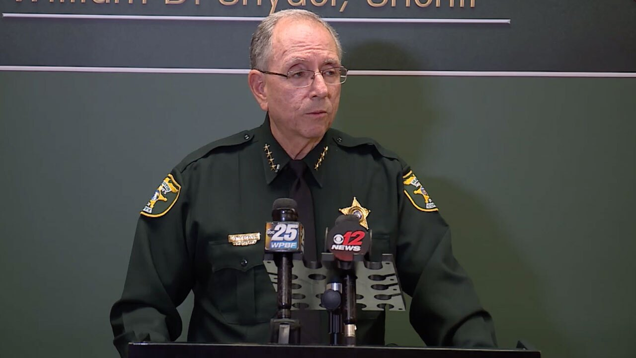 Martin County Sheriff William Snyder discusses arrest of corrections sergeant, June 29, 2021