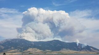Further closures, evacuations in Bridger Canyon due to Bridger Foothills Fire