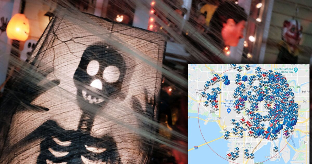 Are there sex offenders, predators in your neighborhood? Use this map before trick-or-treating this Halloween