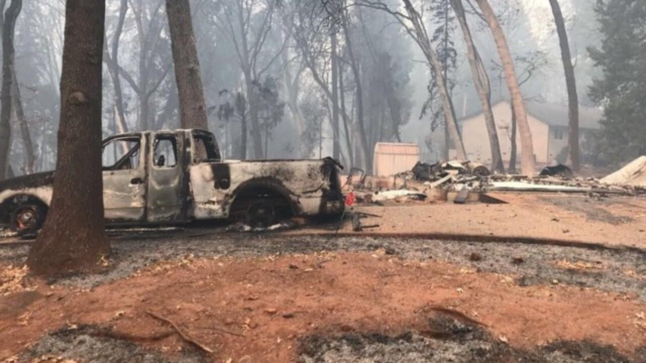 NEO native loses home in California wildfire