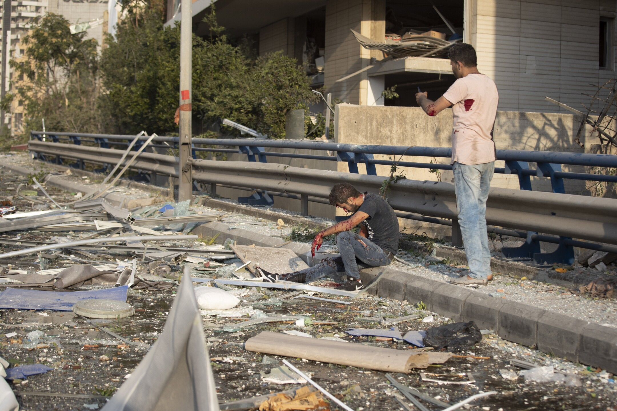 Photos: Aftermath of massive explosion in Beirut