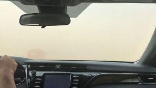 I-15 Dust Storm