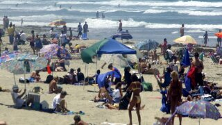 Fourth of July beach parking rules