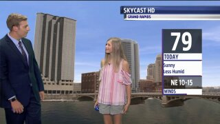 Congratulations to our Weather Kid of the Month, Ella!
