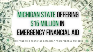 MSU offering $15 million in emergency financial aid to current Spartans