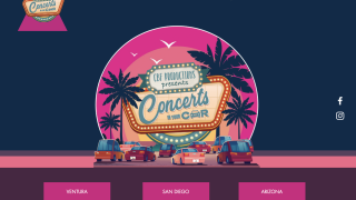 Concerts in Your Car - website screengrab