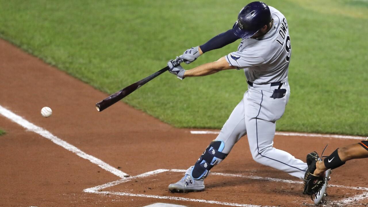 Rays Orioles Baseball