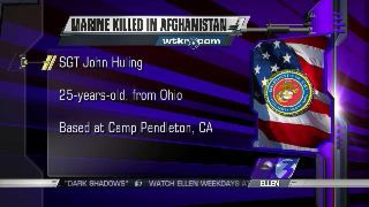 25-year-old Marine killed in Afghanistan