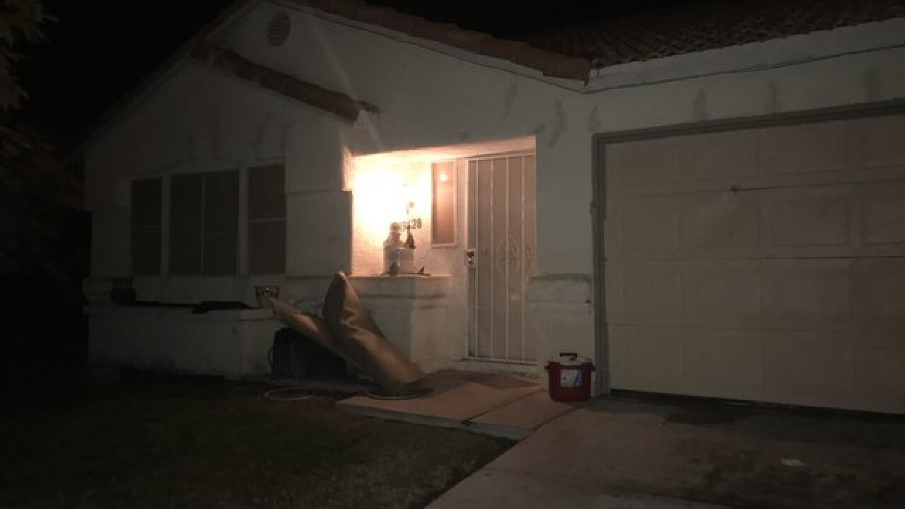 2 children hurt in North Las Vegas shooting
