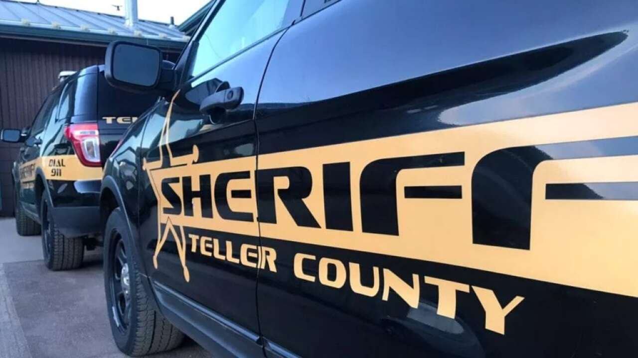 Teller County Sheriff's Office vehicle