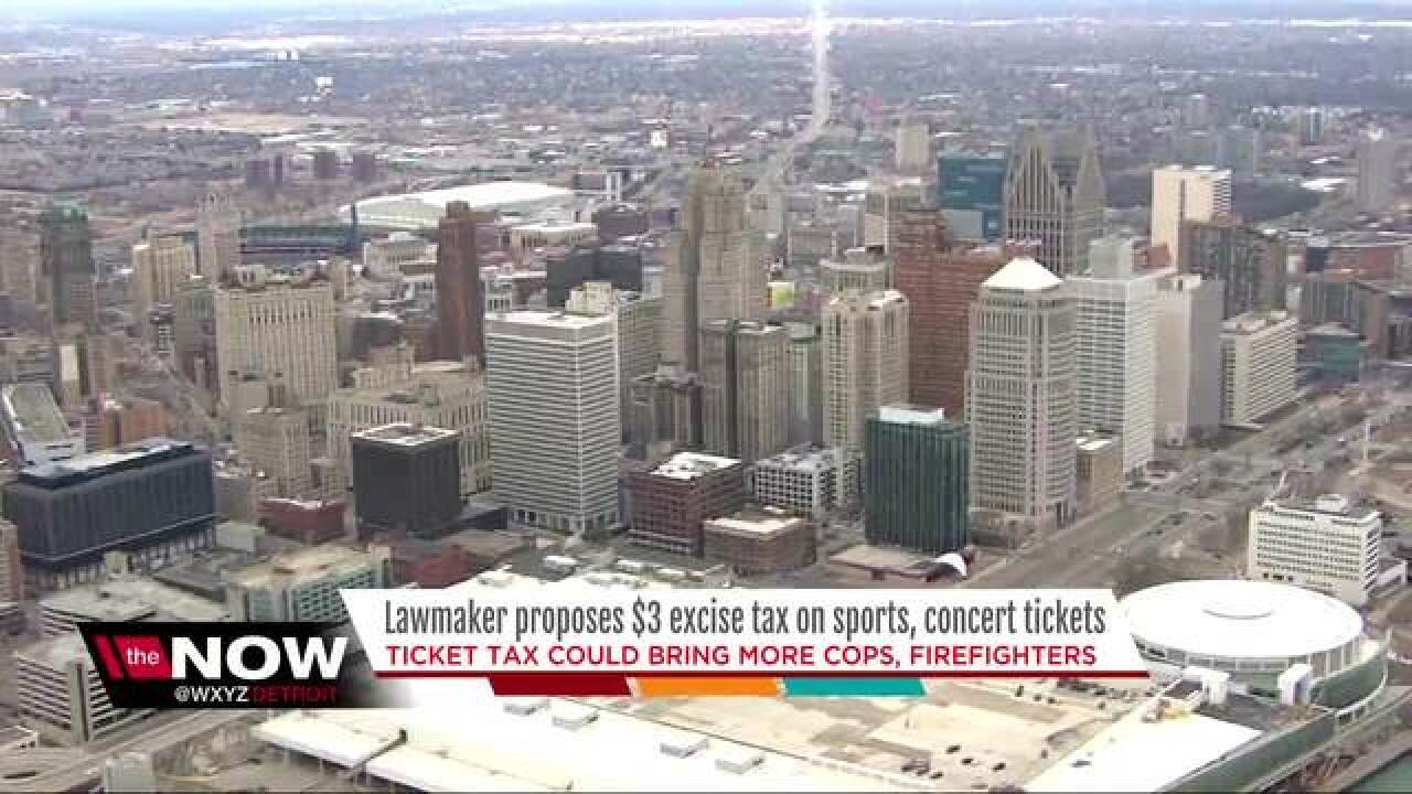 VOTE: Do you support taxing Detroit game tickets
