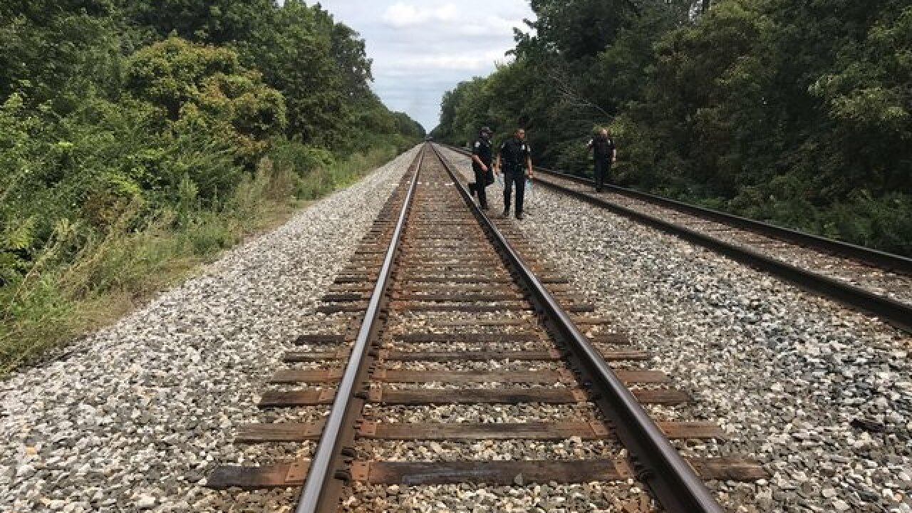 Child struck by train on Indy's west side