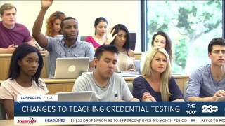 Teaching Credentials Changes July 28, 2021