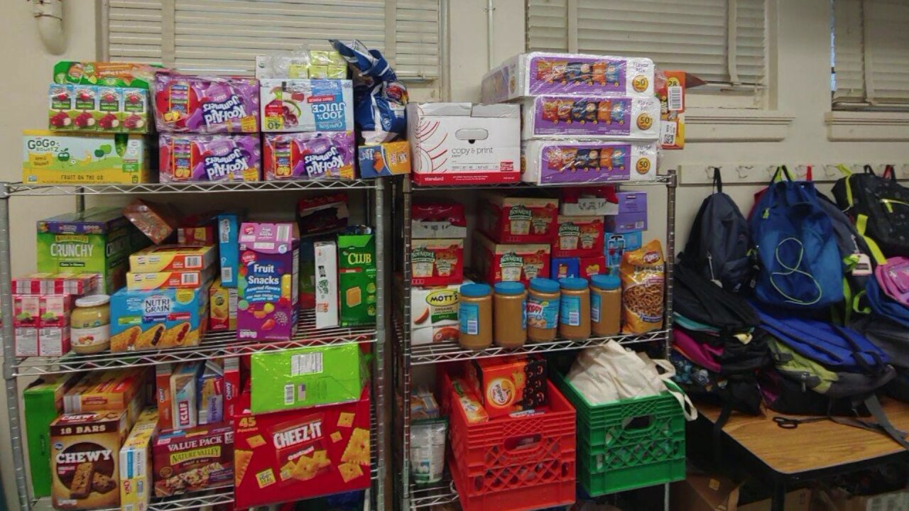 School food pantries in need of donations for Richmondstudents