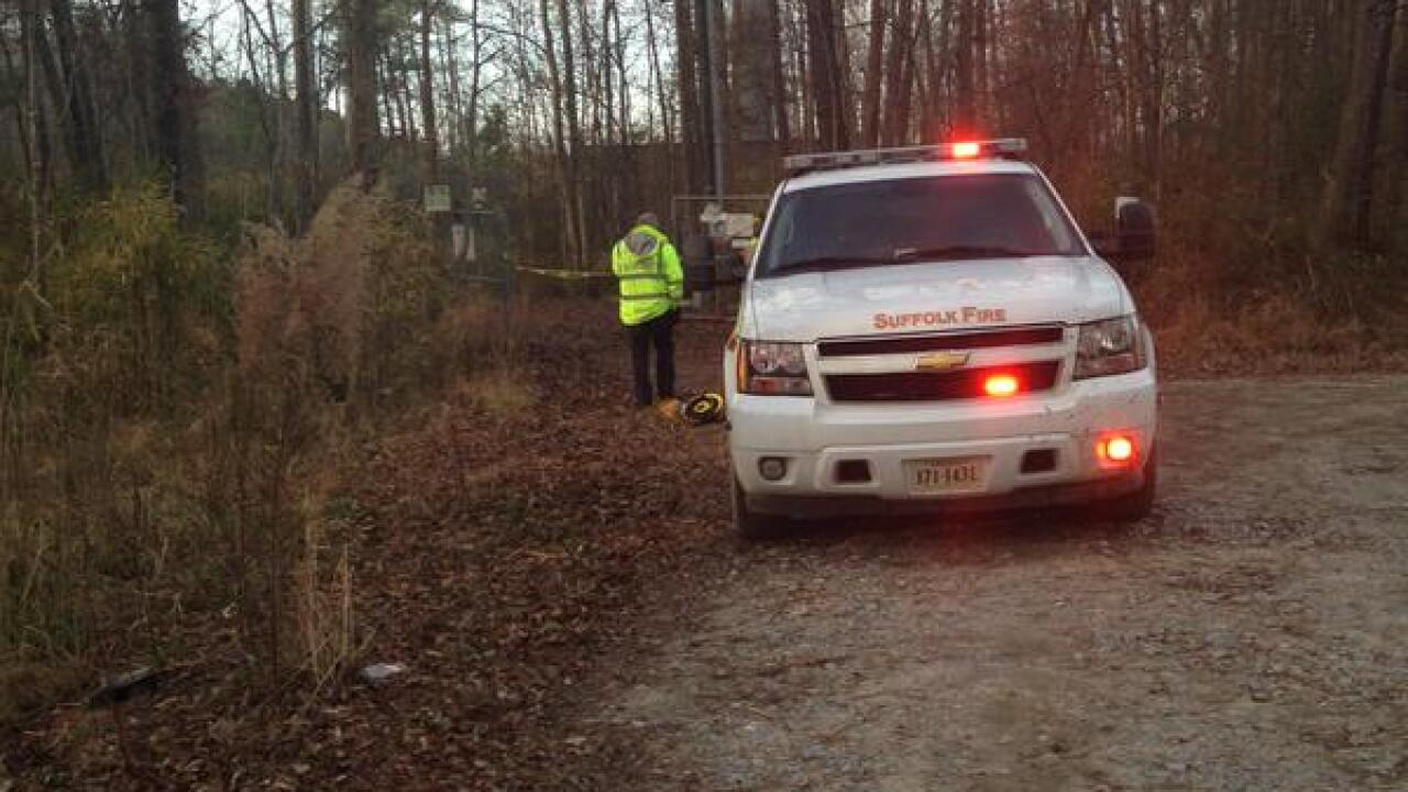 UPDATE: Plane on training flight crashes into swamp near Hampton Roads Executive Airport
