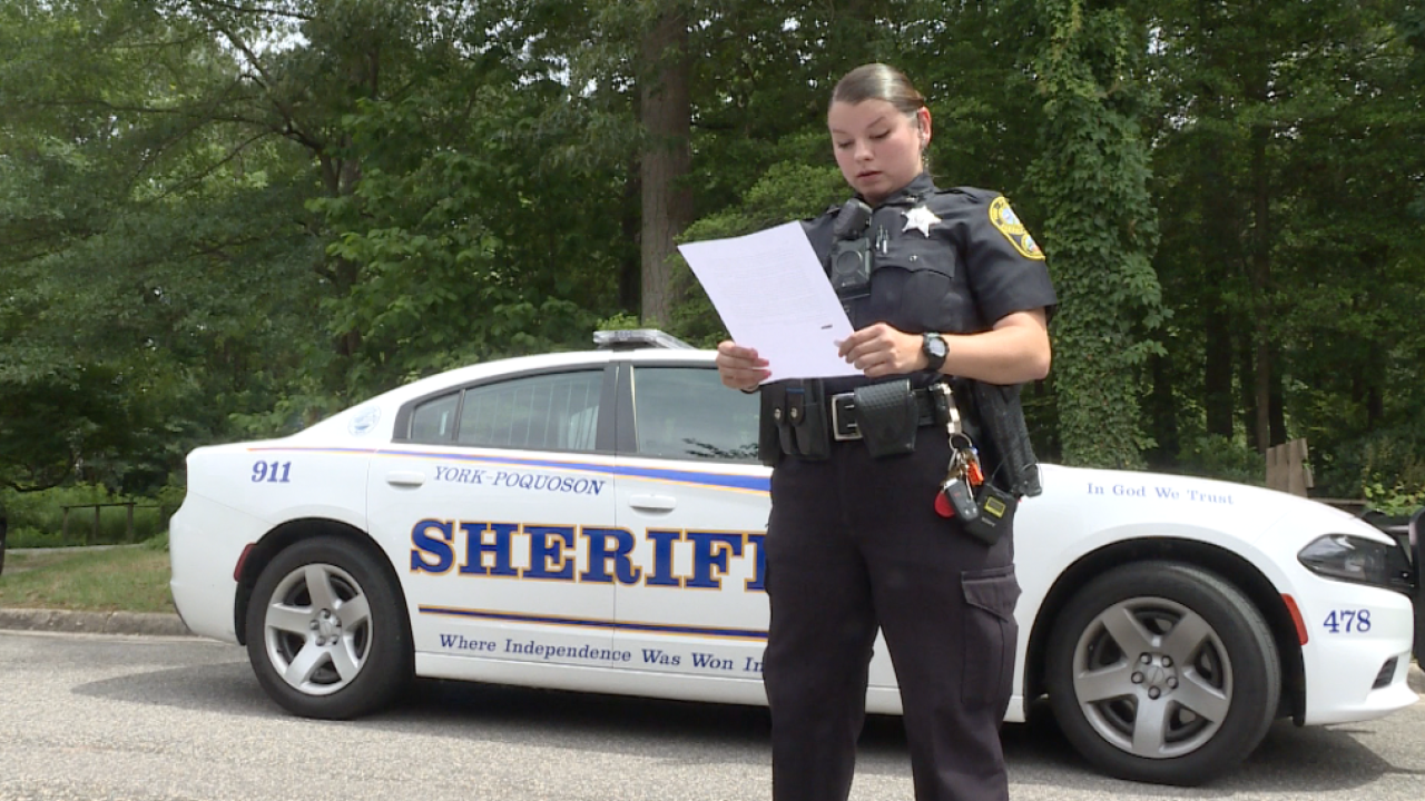 'Thank you for saving my life' Yorktown man attributes sobriety to localdeputy