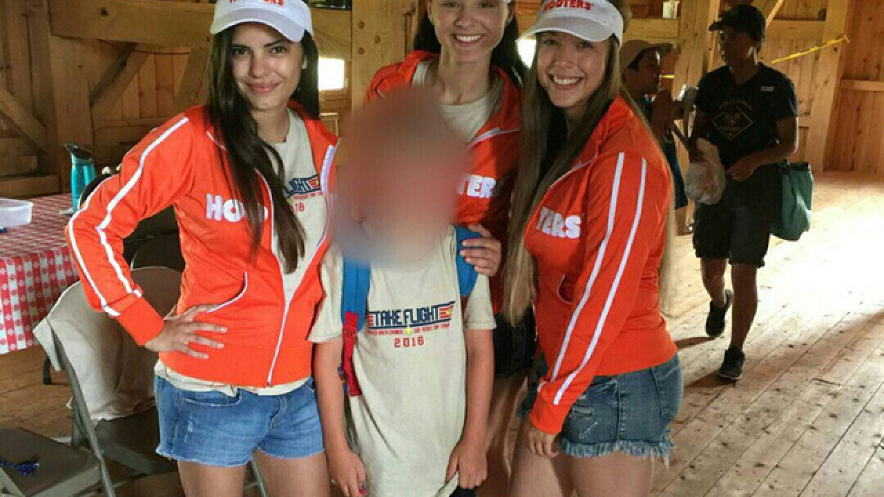 Parents angry over Hooters sponsoring Scout camp