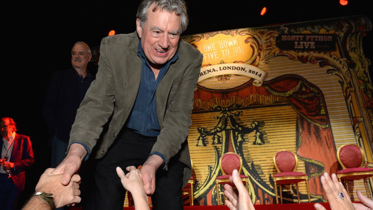 Monty Python co-founder Terry Jones has dementia