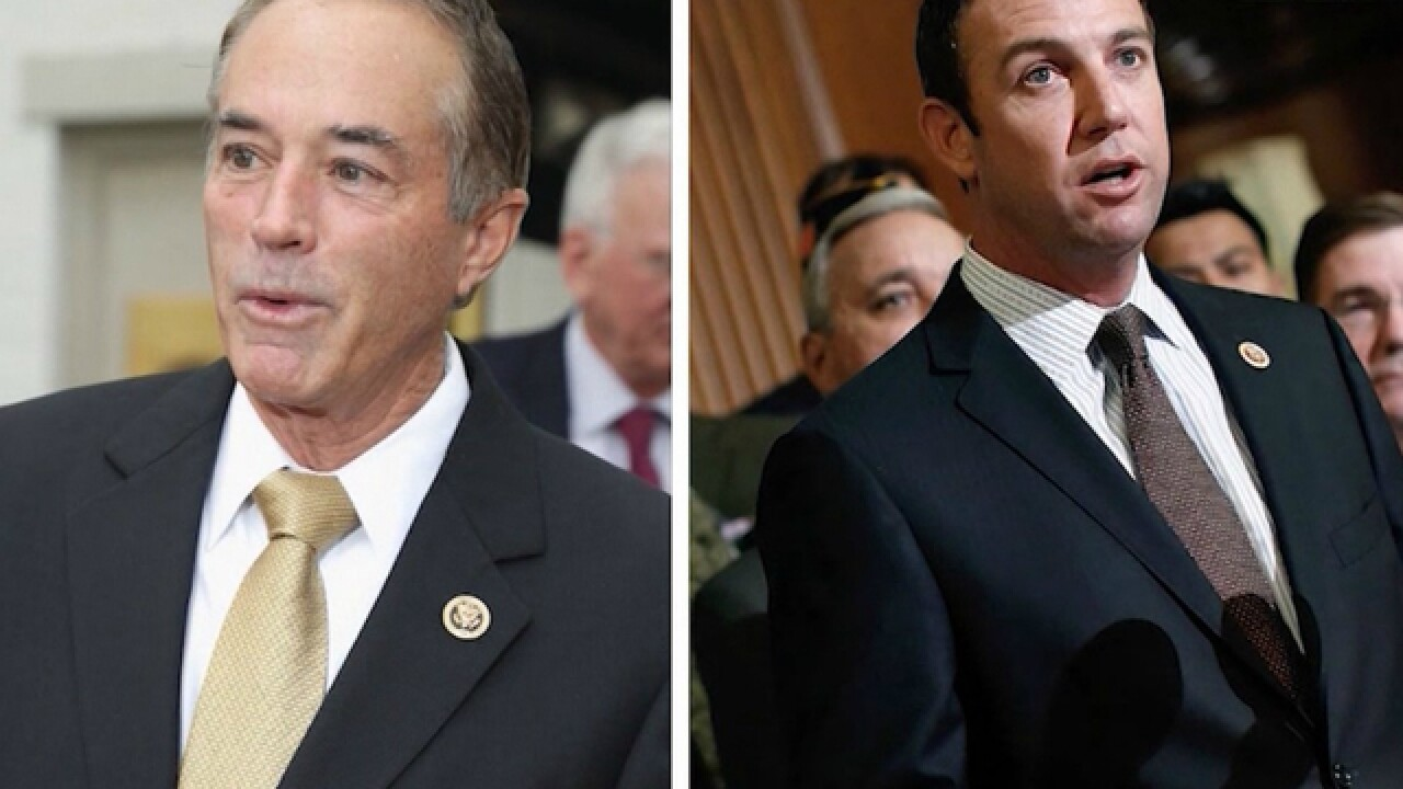 Two GOP congressmen facing indictment projected to win re-election