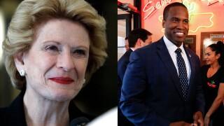 John James, Debbie Stabenow face off in Senate debate on Monday