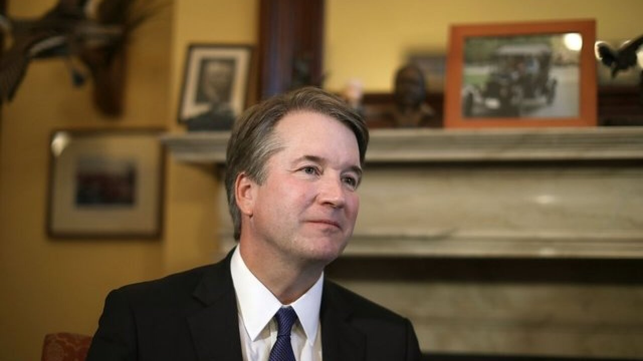 Anonymous letter sent to Sen. Cory Gardner's office detailing fourth allegation against Kavanaugh