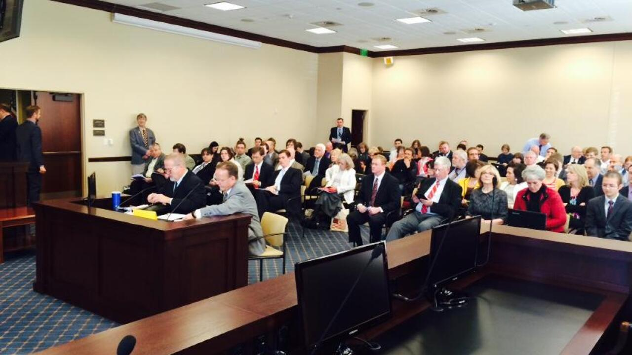 Emotional hearing for compromise LGBT nondiscrimination, religious liberties bill
