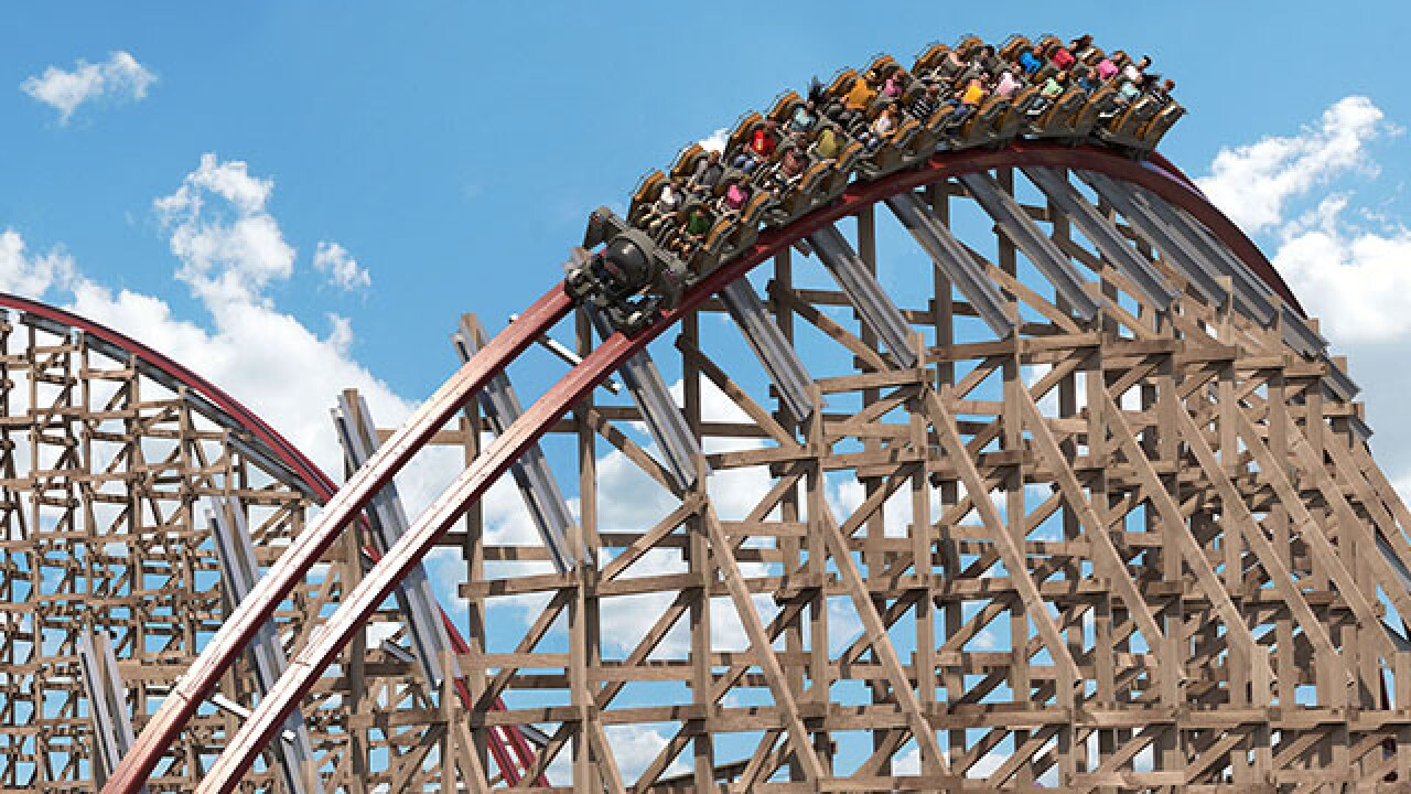 This roller coaster is named the best new ride