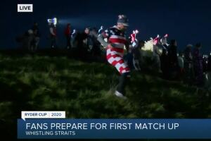 Fans prepare for first Ryder Cup match up