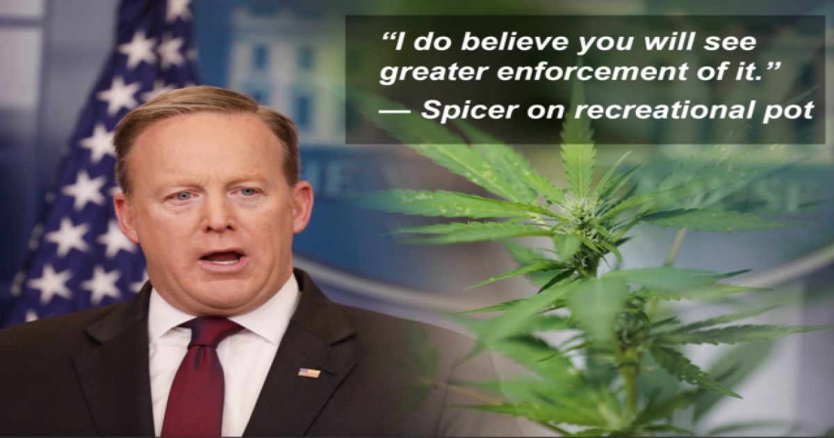 white house compares recreational pot to opioid crisis