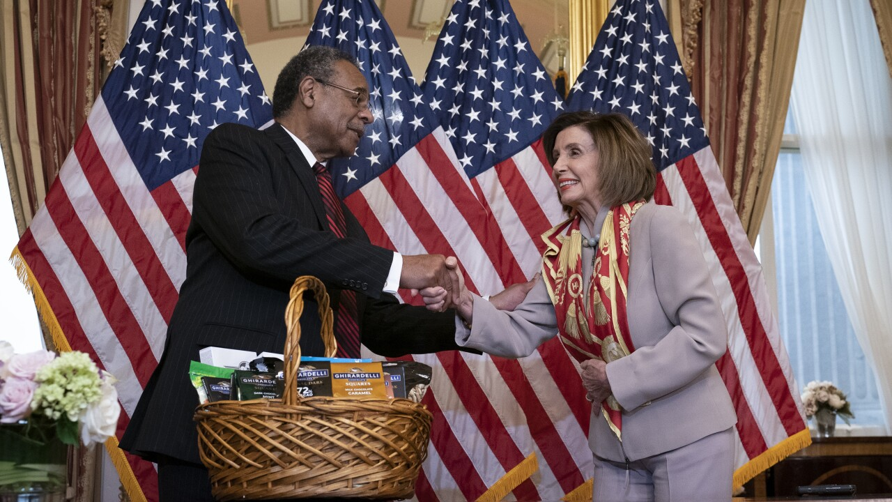 Nancy Pelosi, Emanuel Cleaver