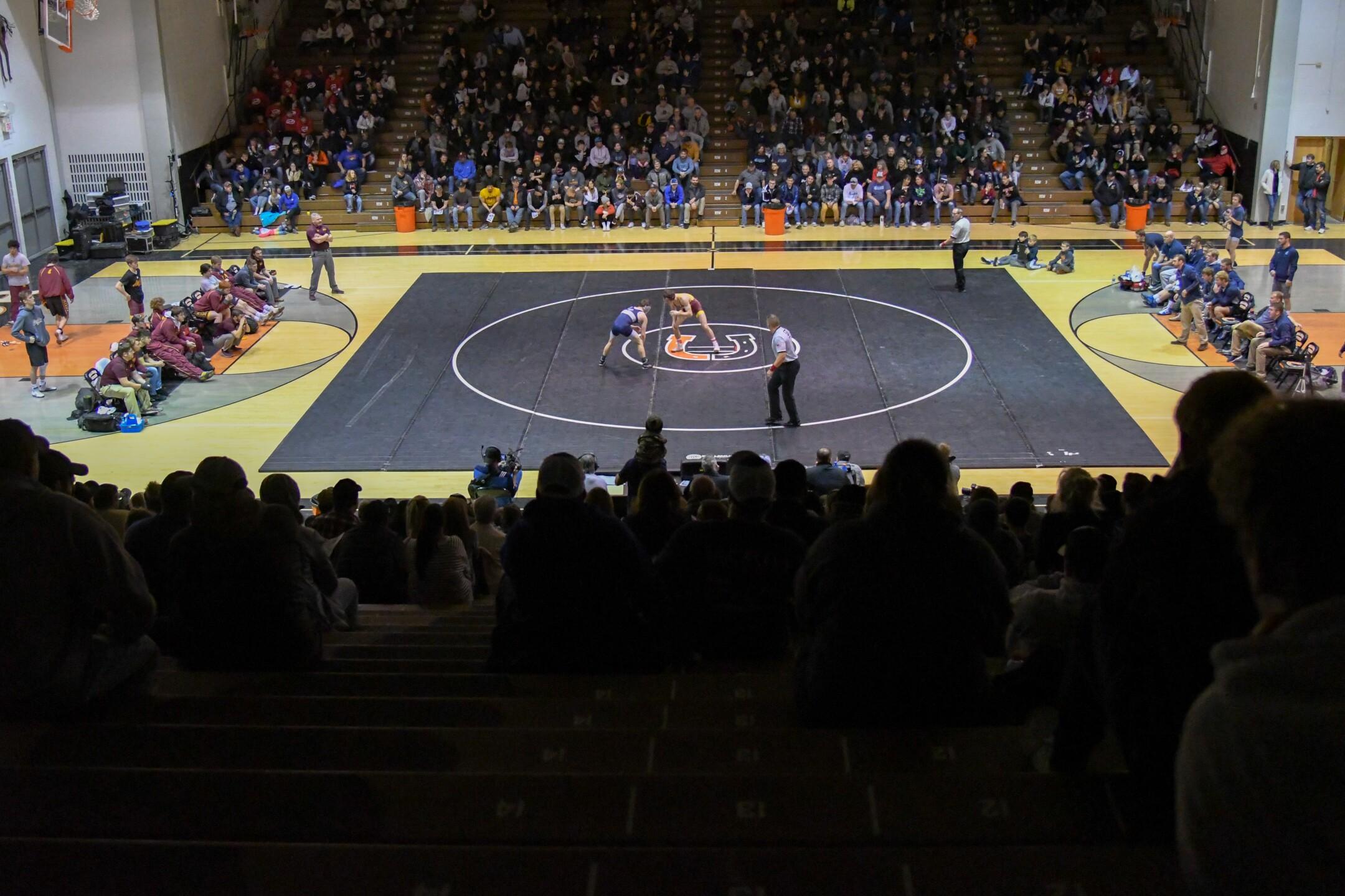 MSU-Northern University of Providence wrestling