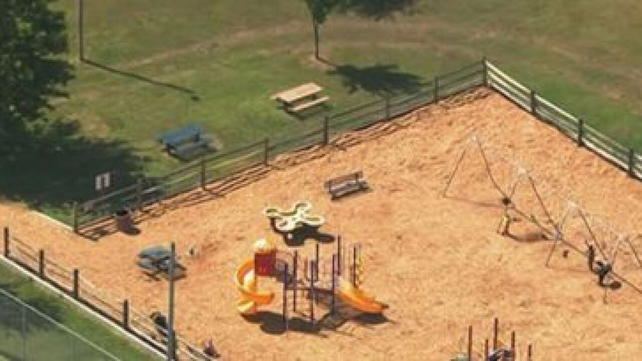 Maryland police respond to park, mother may have been pushing dead son in swing since day before