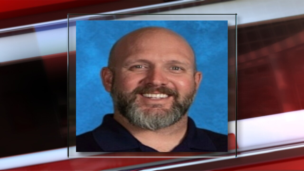 Douglas Co. HS teacher charged with sex crimes