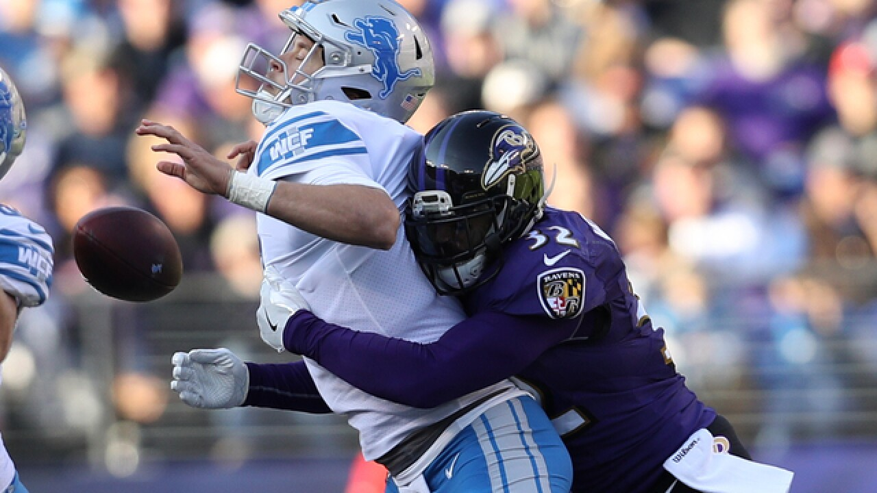 Matthew Stafford injured in Lions loss to Ravens