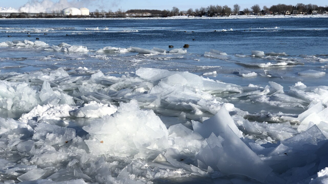 PHOTO GALLERY: Ice blockage along St. Clair River in East China Township