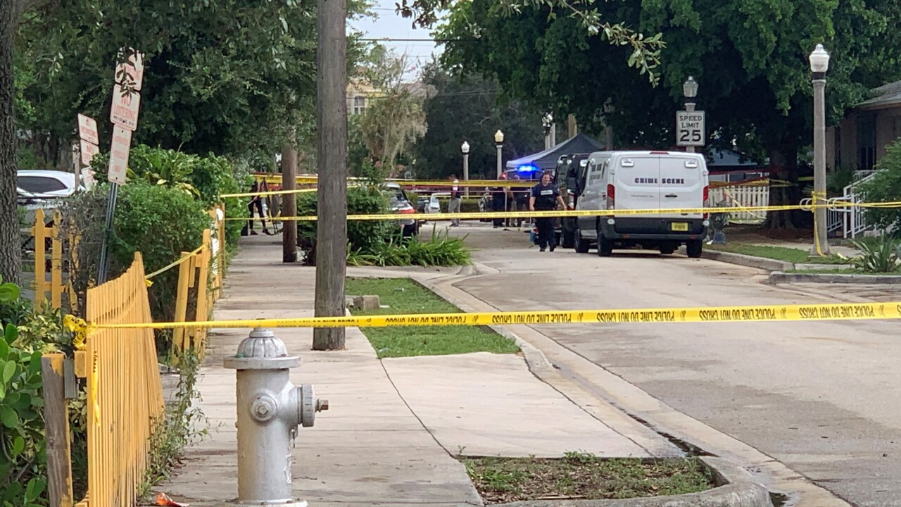 One man is dead and another injured after two shootings in West Palm Beach.