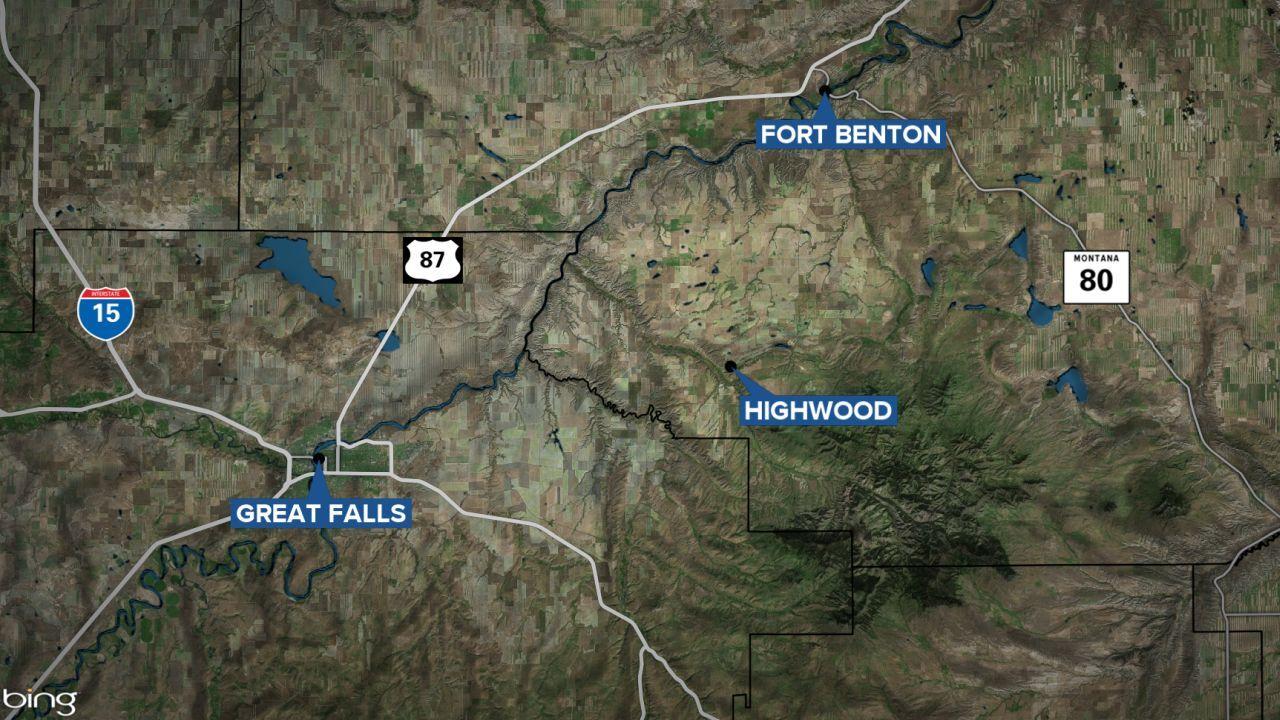 highwood fort benton map