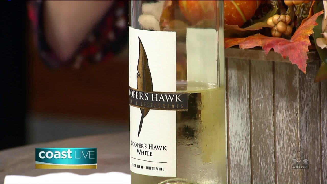 Toasting Tuesday with a white blend from Cooper's Hawk on Coast Live