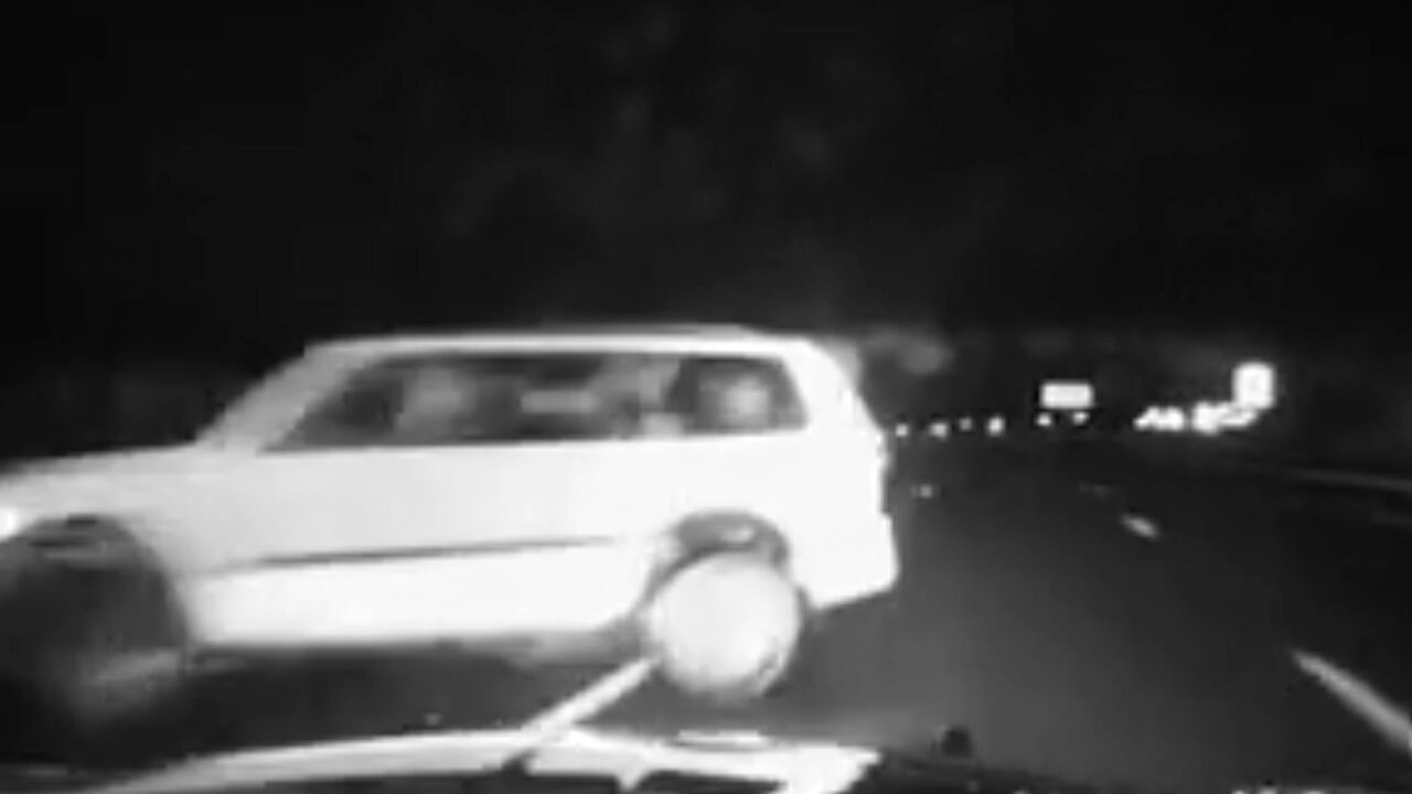 Tense dashcam video shows trooper stopping wrong-way driver on I-15 in DavisCo.
