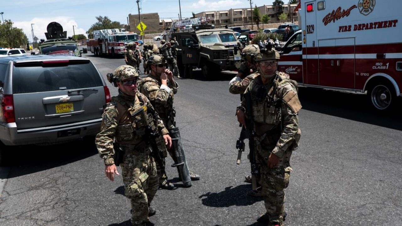 El Paso shooting suspect has been charged with capital murder