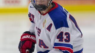 Luke Hughes USA NTDP