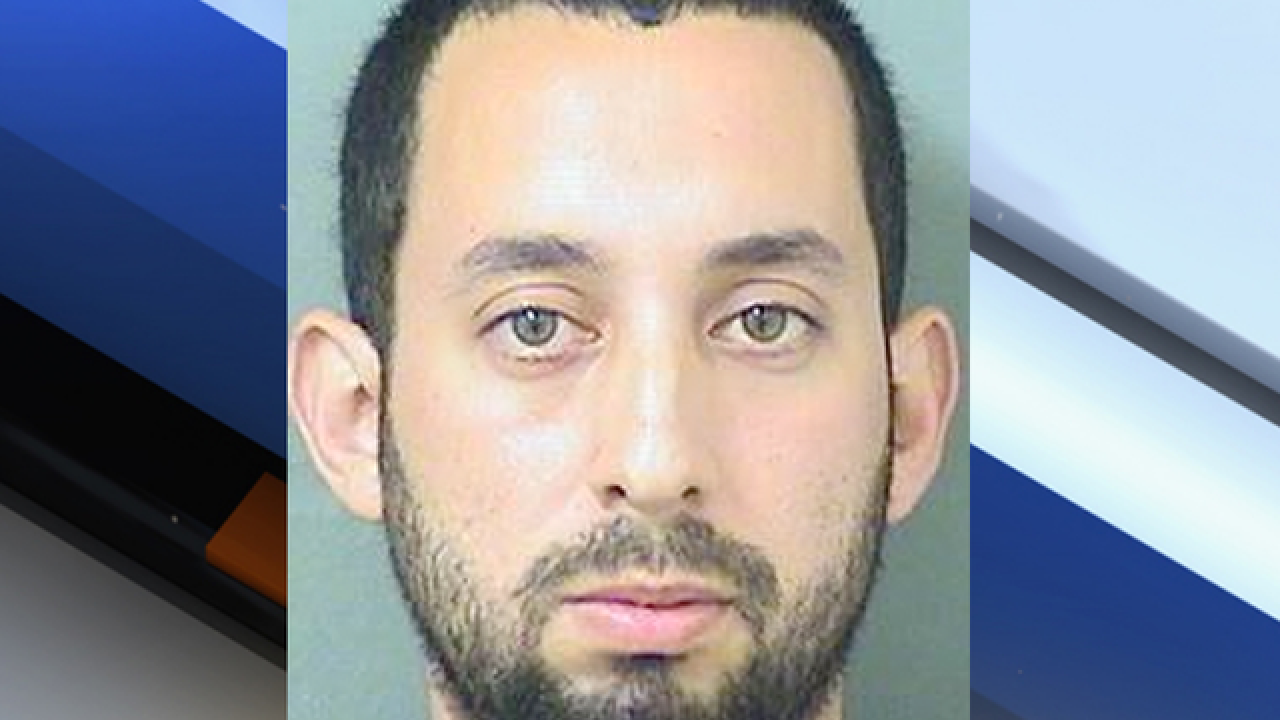 Man arrested after breaking into a residence and stabbing a person, PBSO says
