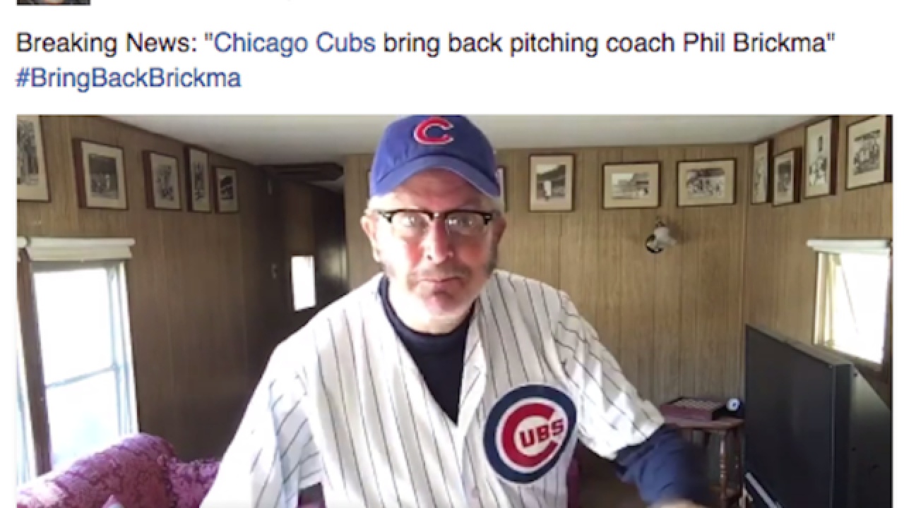 Daniel Stern brings back 'Rookie of the Year' character to honor Cubs' playoff run