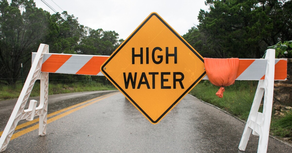 May 30 road closures due to flooding across Oklahoma