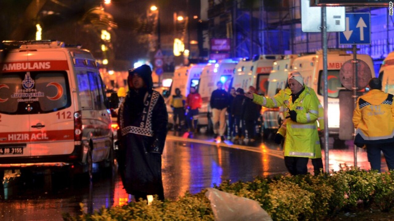 Istanbul police arrest suspect, 4 others in Reina nightclub shooting